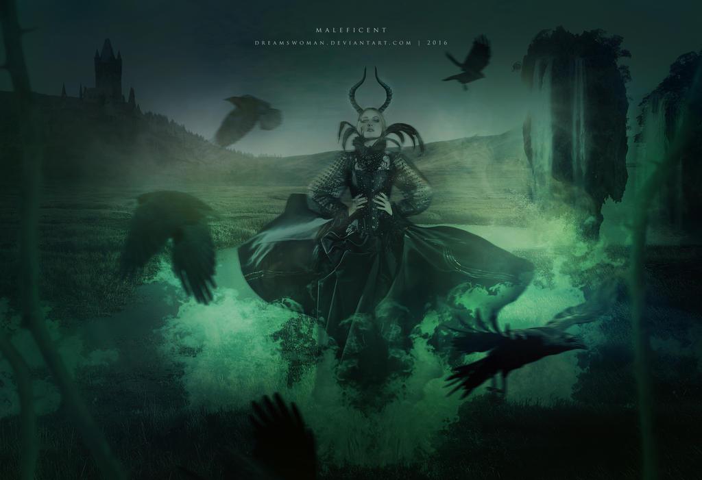 Maleficent by dreamswoman