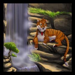 Ruby the Tigress by Sidensvans