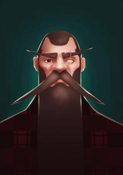 Portrait 03 - Big Beard