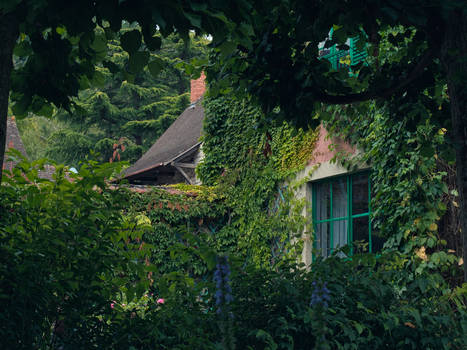 A view of Monet's house