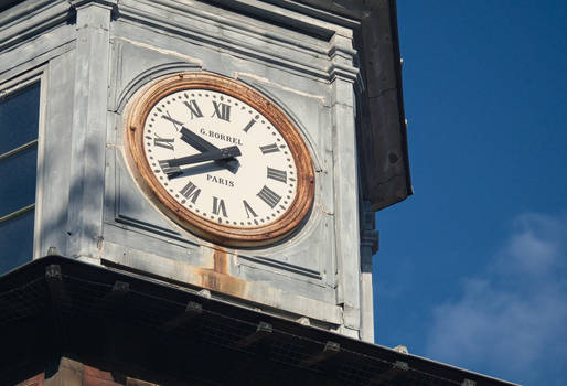 An old clock tower