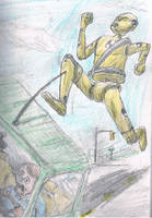 Beware the Giant Crash Test Dummy of Doom! by Lord-Triceratops