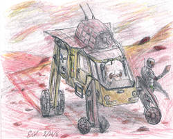 Martian Rover by Lord-Triceratops
