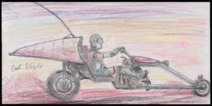 Harley Davidson Martian Motorcycle