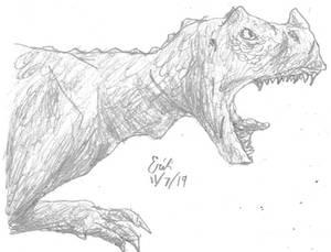 Ceratosaurus Dinovember 2019