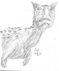 Carnotaurus Dinovember 2019