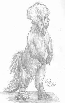 Protoceratops Threat Display
