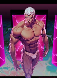 Urien (Street Fighter: World Warrior Encyclopedia) by gammon