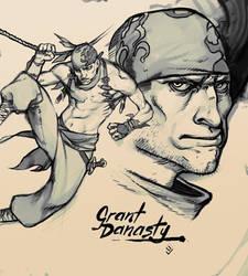 Castlevania Concept: Grant by gammon
