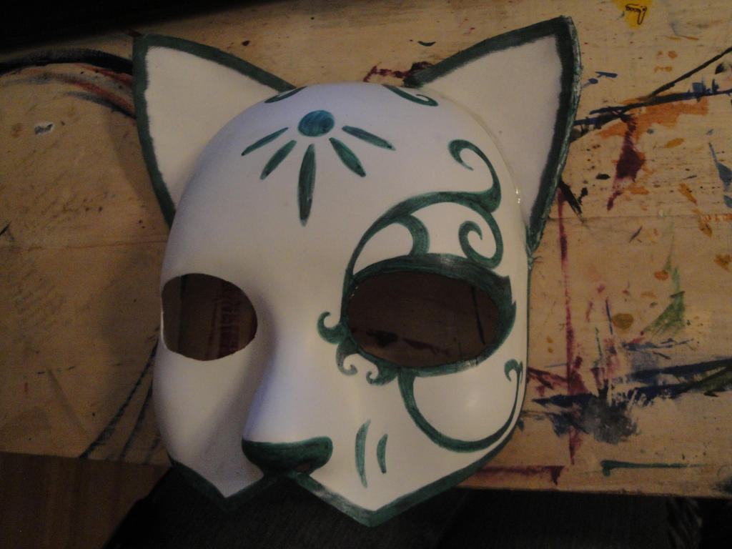 bioshock cat splicer mask part 1 by wynterfang on deviantart