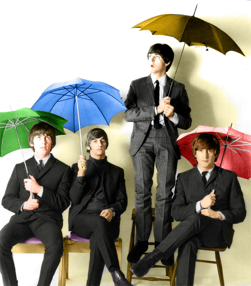 Rain single beatles