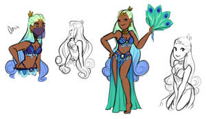 Character Concept - Oasis