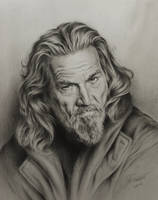 Jeff Bridges by sergejbag