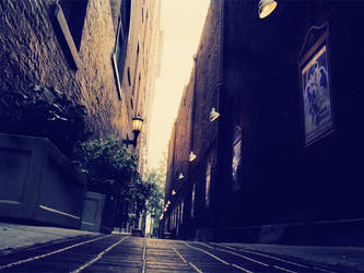 Alley with a History by AnthonyPresley