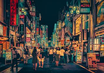 Neo Tokyo III by AnthonyPresley