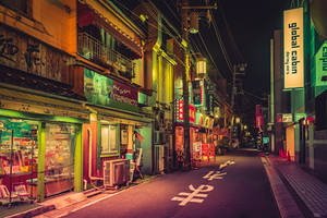 Deserted Japan Street by AnthonyPresley