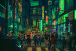 Tokyo in Science Fiction by AnthonyPresley