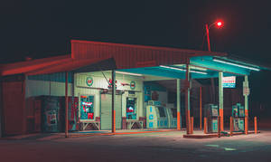 Country Gas Station by AnthonyPresley
