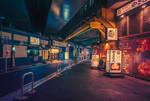 Under the Train Tracks