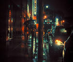 Couple Walking to Car - Memphis TN by AnthonyPresley
