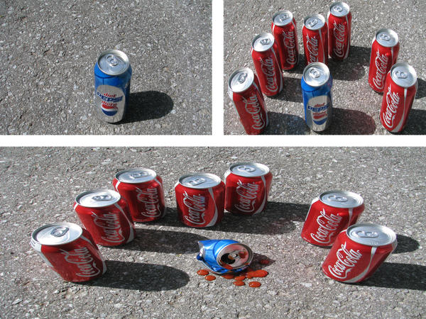 Some amazing advertisements Coke_vs_Pepsi_by_Mooallie