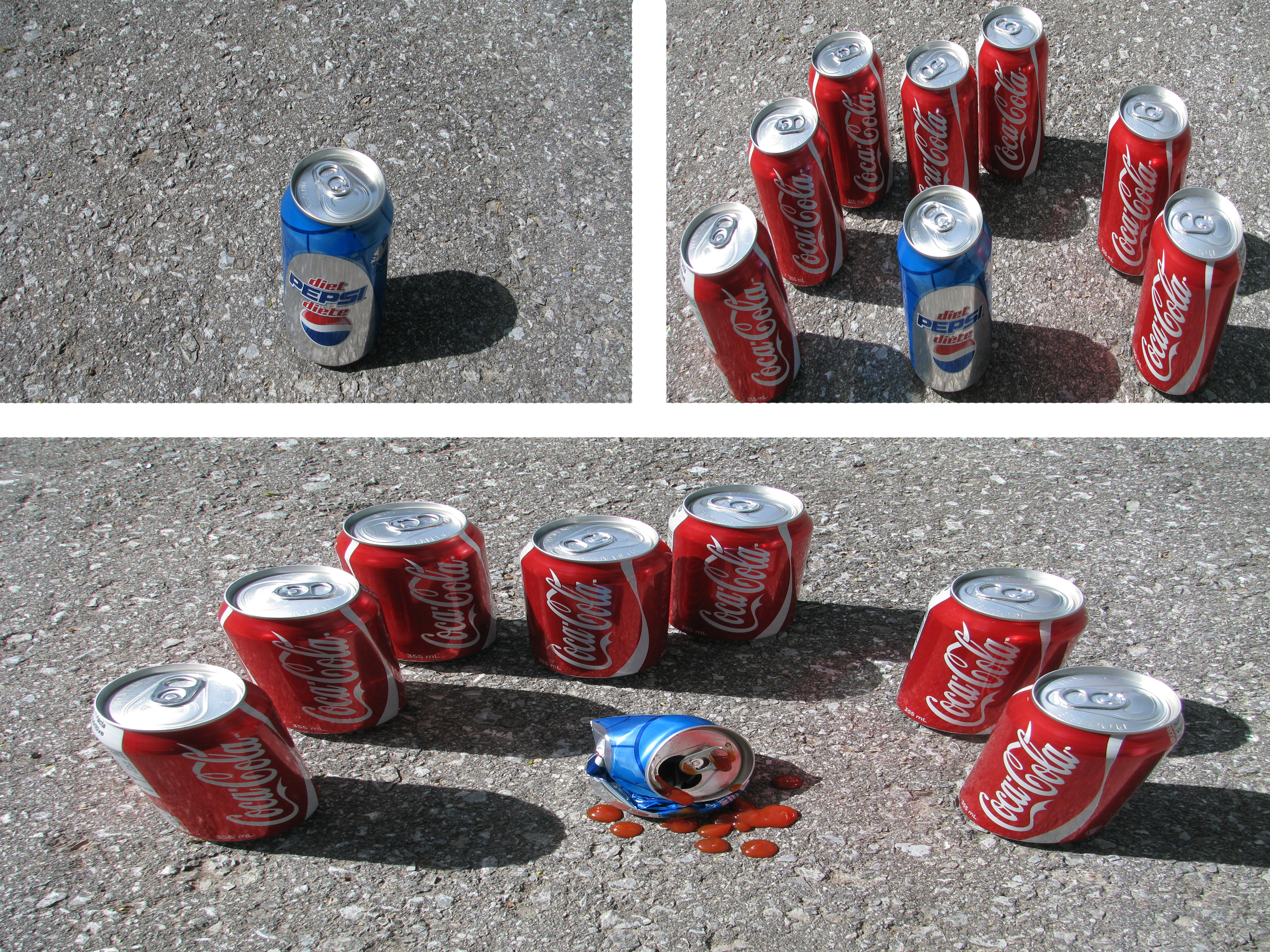 coca cola is better than pepsi
