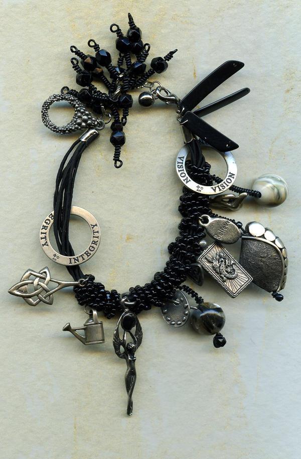 Talisman Bracelet by Osa-Art-Farm