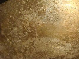 Silver work texture golden by Designdivala
