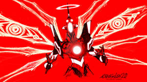 Evangelion Unit 01 crazy red 2