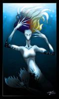 Mermaid Gaga by AdanGarcia