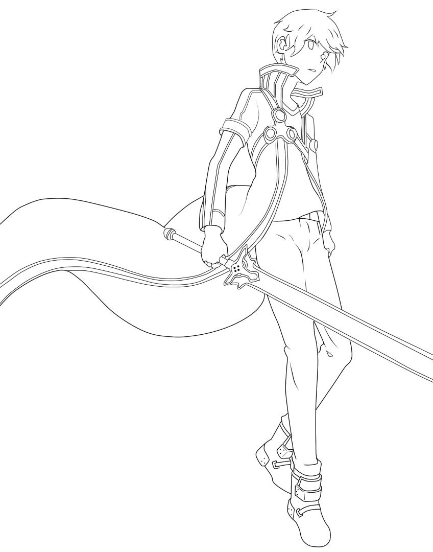 Kirito Sword Art Online By Fx8000 On Deviantart