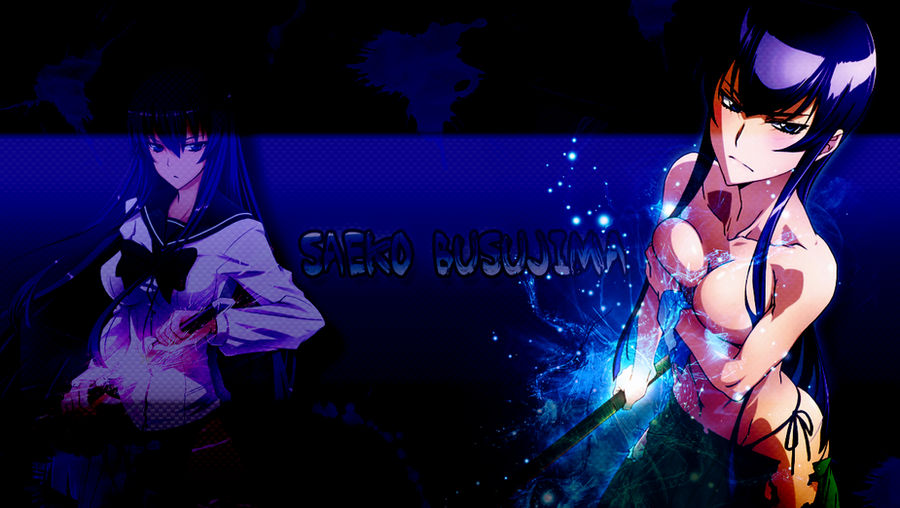 Saeko Busujima Wallpaper By Saeko08