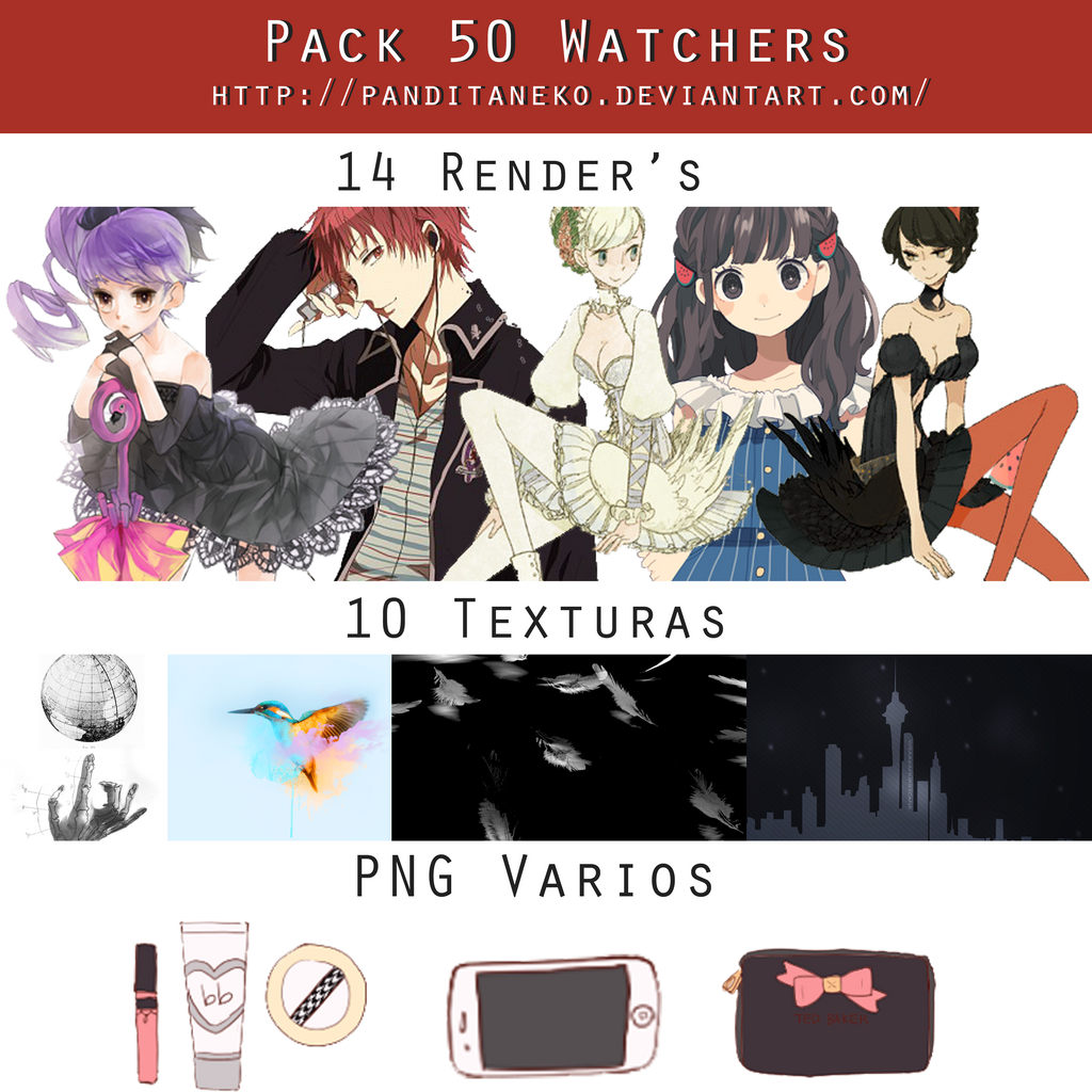 Anime Pack Deviantart