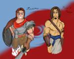 Maximo and Prince of Persia