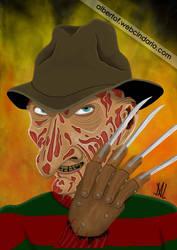Freddy Krueger by Jalpal