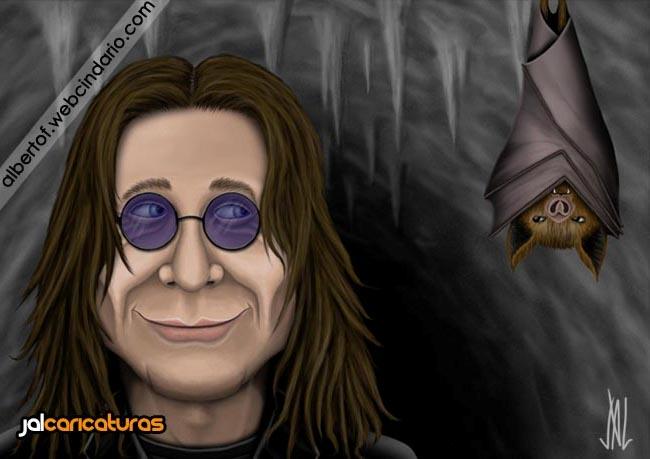 Caricatura Ozzy Osbourne (Black Sabbath) by Jalpal