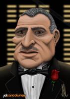 Don Vito Corleone (V2) by Jalpal