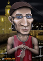 Caricatura Fito Cabrales by Jalpal