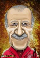 Vicente Del Bosque by Jalpal