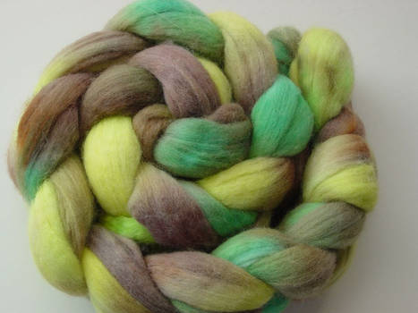 Hand-dyed roving