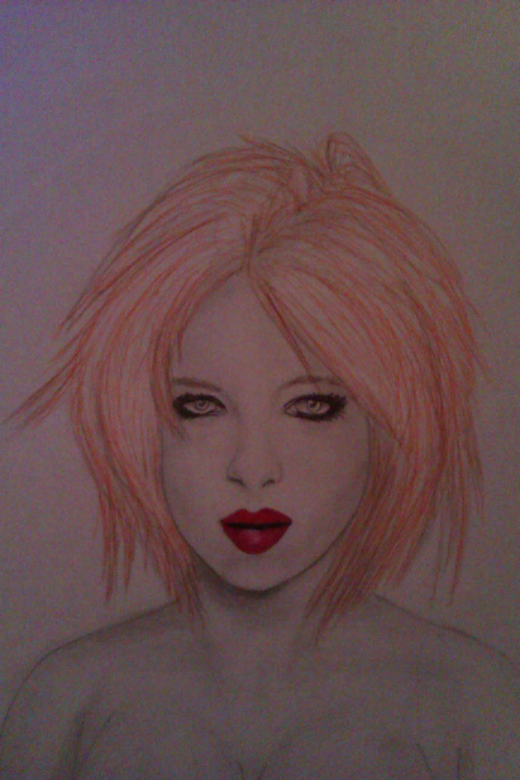 Shirley Manson strange portrait by DrSabir