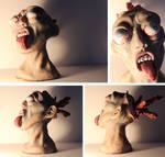 Exploding Zombie Head