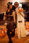 Steampunk Costumes by spulunk
