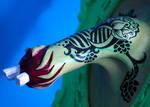 Tattooed Zombie Arm Detail