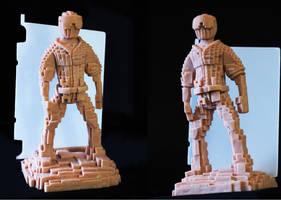 Pixel Sculpt Commision by spulunk