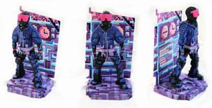 Pixel Sculpt Commission Pain-up by spulunk