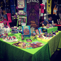 High Fructose Zombies Booth NYCC 2014
