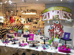 High Fructose Zombies Display at P!Q GCT NYC