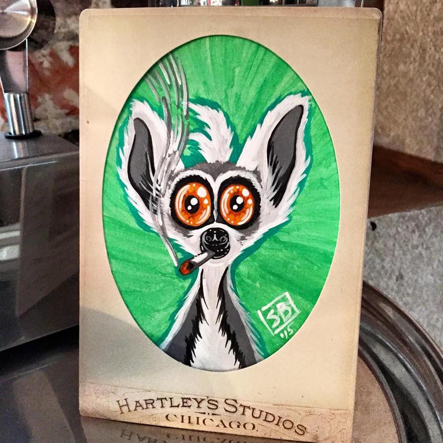 Lemur Larry by spulunk