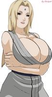 Tsunade amazing cleavage1 by Etsitpab
